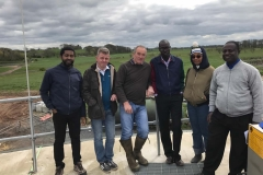 Akan hosting different african fellows at a bioenergy plant in Lancaster