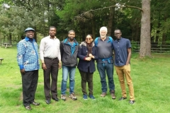 Akan hosting african guests at a conservation in Cumbria UK